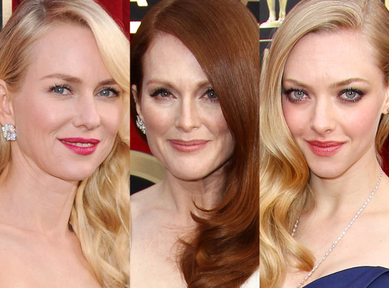 Naomi Watts, Julianne Moore, Amanda Seyfried, SAG Awards, Beauty