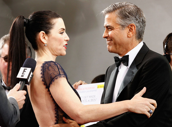 Julianna Margulies, George Clooney