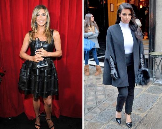 Jennifer Aniston, Kim Kardashian