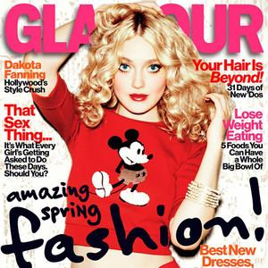 Dakota Fanning, Glamour Magazine