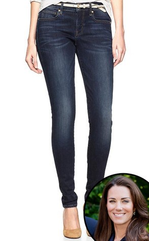 Duchess Kate Middleton, Gap Jeggings