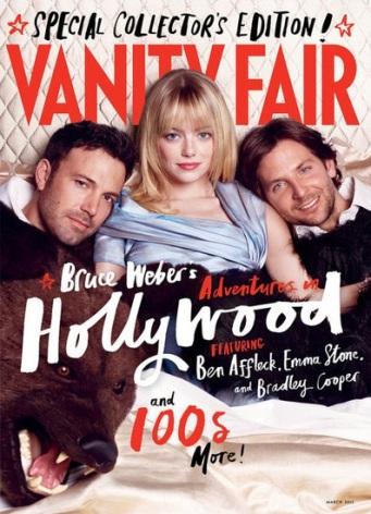 Emma Stone, Ben Affleck, Bradley Cooper, vanity fair