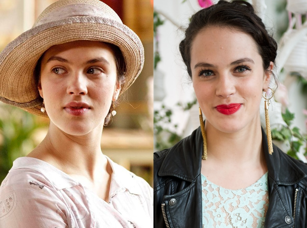 Downton Abbey actress Jessica Brown Findlay was grubby
