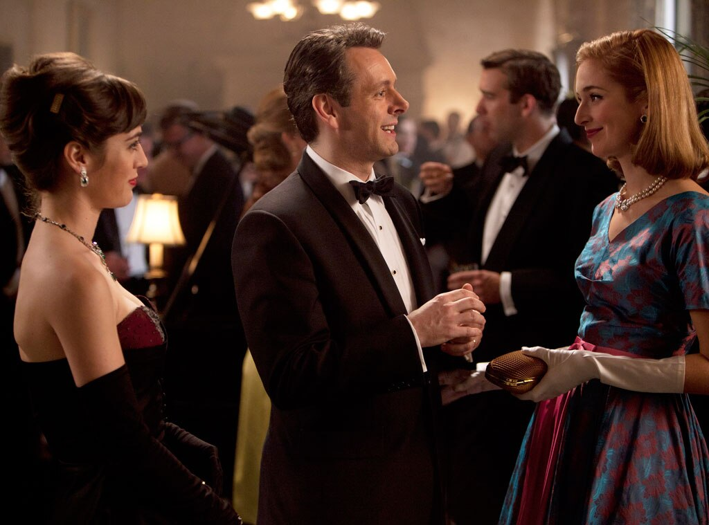 Lizzy Caplan, Michael Sheen, Caitlin Fitzgerald, Masters of Sex, Showtime