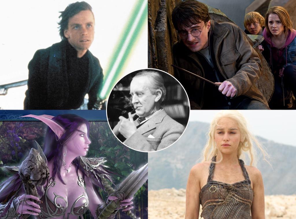 J.R.R. Tolkien, Star Wars, Harry Potter, World of Warcraft, Game of Thrones