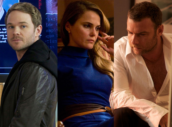 James Purefoy, The Following,  Keri Russell, The Americans,  Liev Schreiber, Ray Donovan