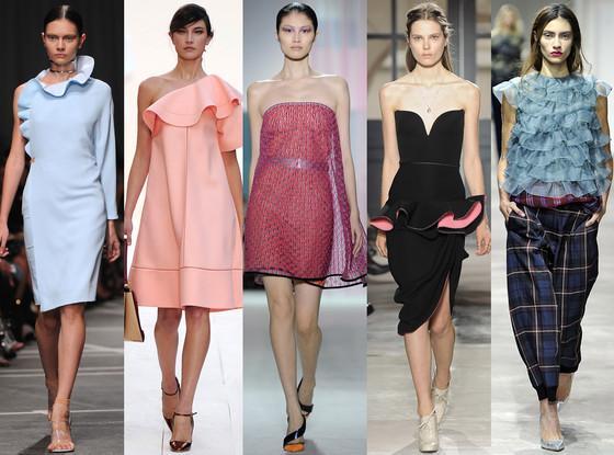 FLUIDITY & FLOUNCE, Givenchy, Dries van Noten, Christian Dior, Balenciaga, Chloe