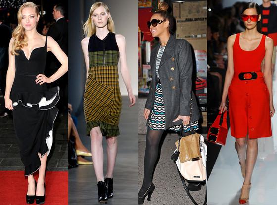 Amanda Seyfried, Beyonce, Micheal Kors Model, Derek Lam Model