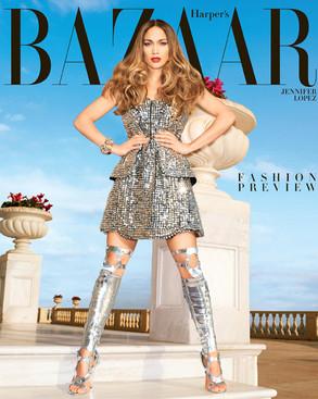 Jennifer Lopez, Harpers Bazaar