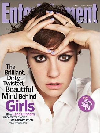 Lena Dunham, Entertainment Weekly