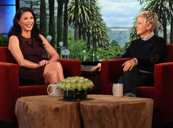 Catherine Zeta-Jones, The Ellen DeGeneres Show