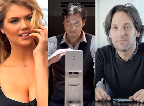 Kate Upton, Sodastream ad, Paul Rudd