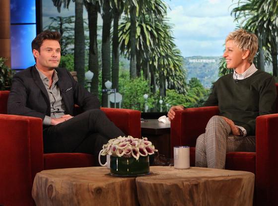 Ryan Seacrest, The Ellen DeGeneres Show