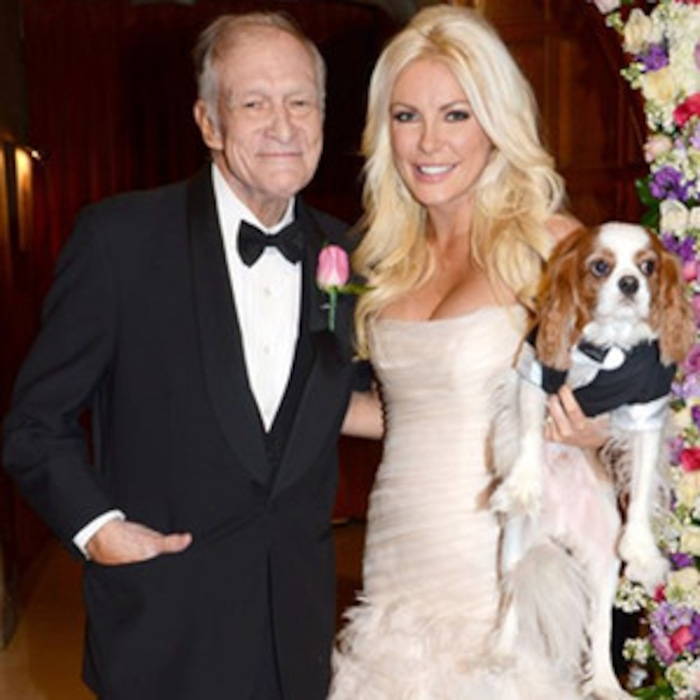 Crystal Harris Auctioning Off Wedding Dress From Nuptials With Hugh