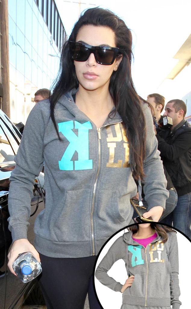 Kim Kardashian, Sears K Doll Hoodie