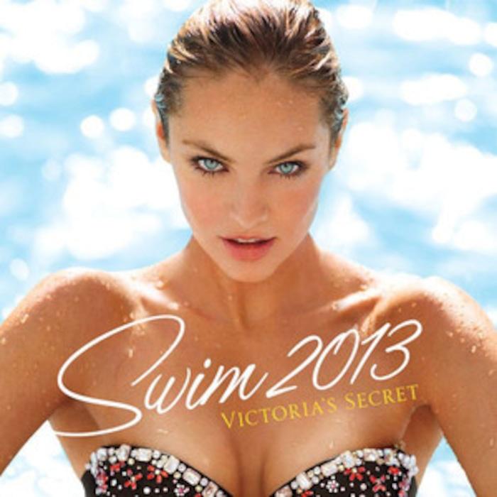 0f5b0a3165cca Candice Swanepoel Lands Victoria s Secret Swimsuit Catalogue Cover ...