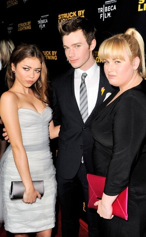 Sarah Hyland, Chris Colfer, Rebel Wilson