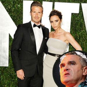 David Beckham, Victoria Beckham, Morrissey