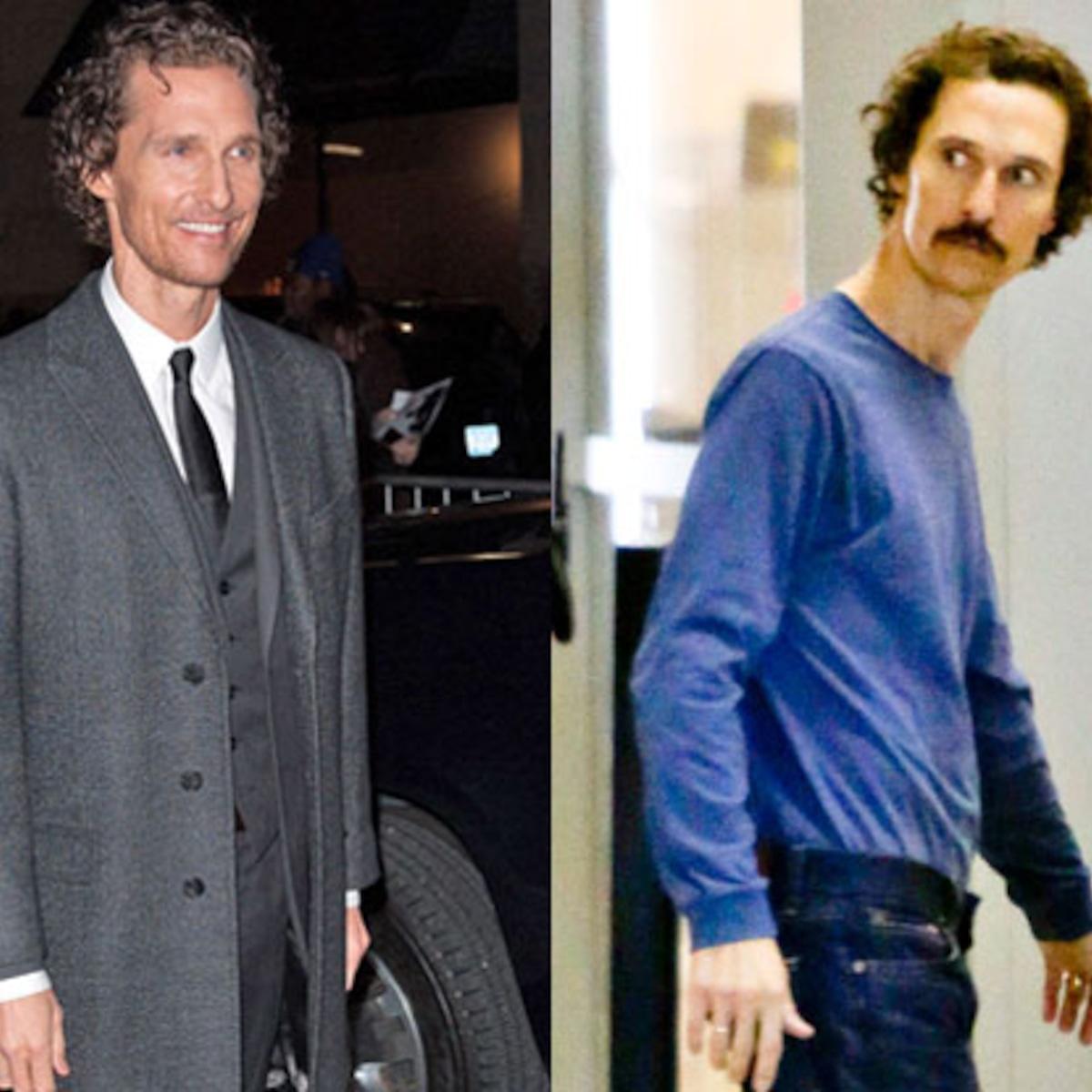Matthew McConaughey nimmt nach extremem Gewichtsverlust 12 Kilo zu - E!  Online Deutschland