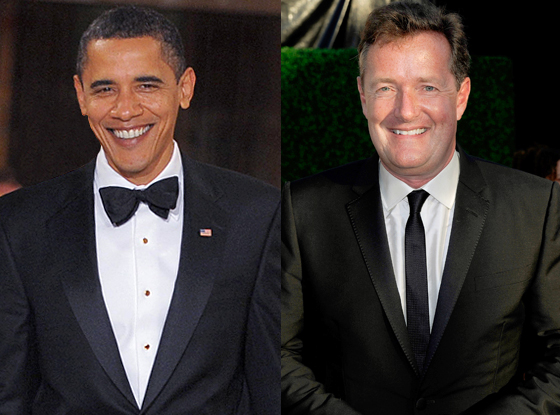 Barack Obama, Piers Morgan