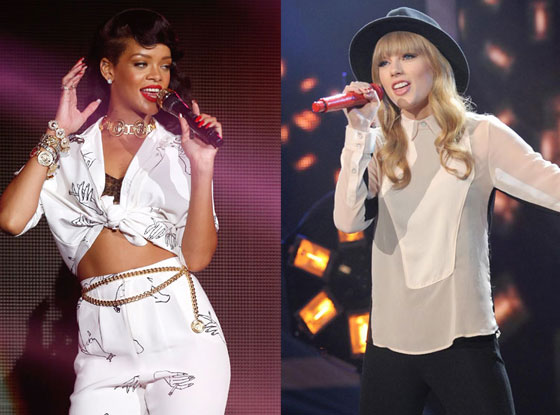Rihanna, Taylor Swift