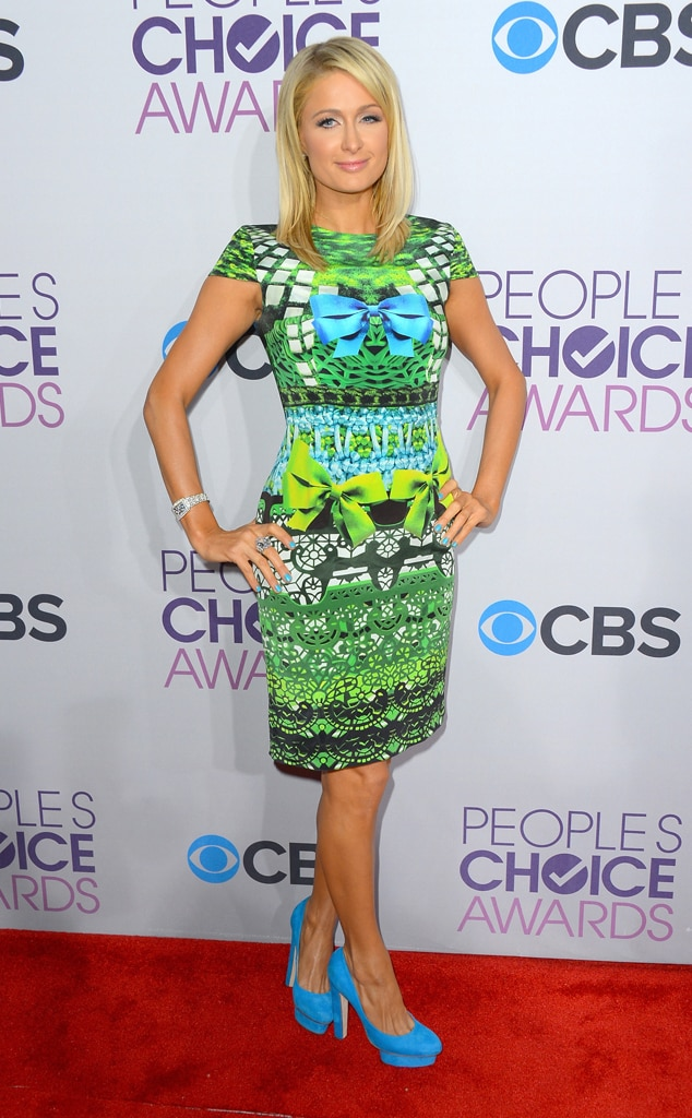 Paris Hilton, People's Choice Awards