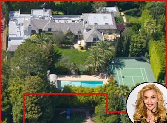 Madonna, Beverly Hills Mansion, Sale