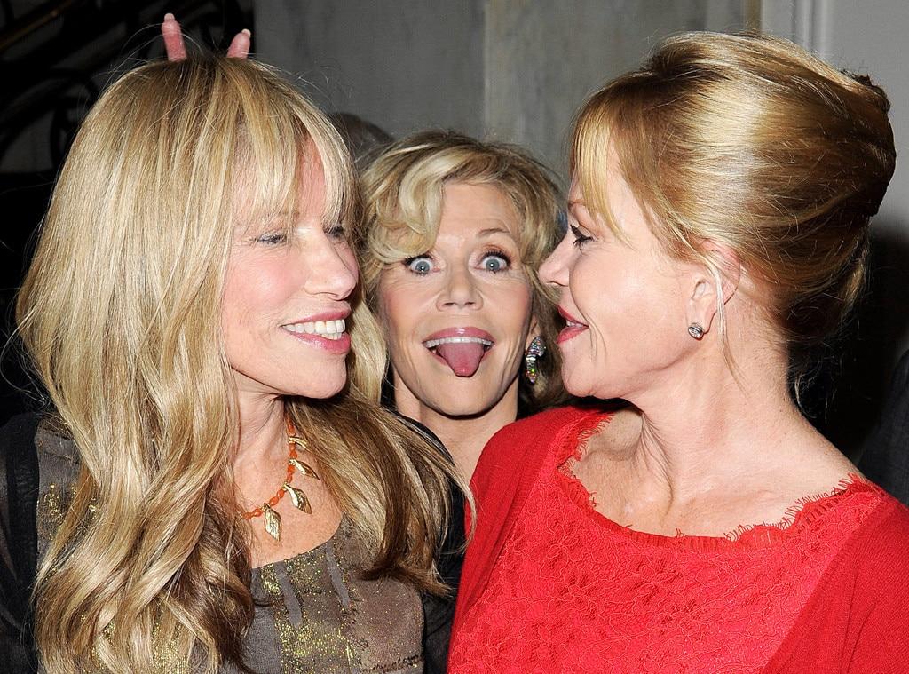 Carly Simon, Jane Fonda, Melanie Griffith, Photobomb
