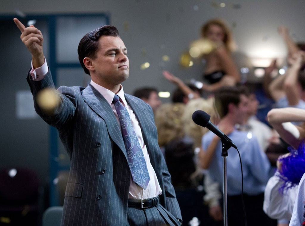 Leonardo DiCaprio, The Wolf of Wall Street, Holiday Movie Guide