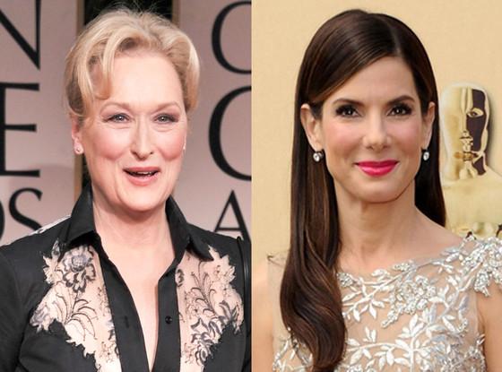 Sandra bullock, Meryl Streep