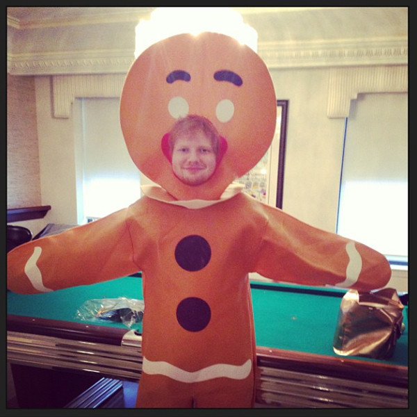 Ed Sheeran, Instagram