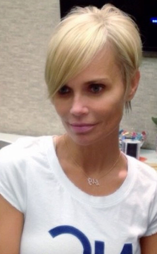 Kristin Chenoweth Debuts Cute New Pixie Cut See The Pic