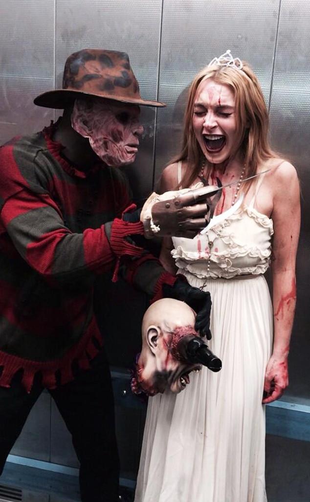 Lindsay Lohan, Halloween