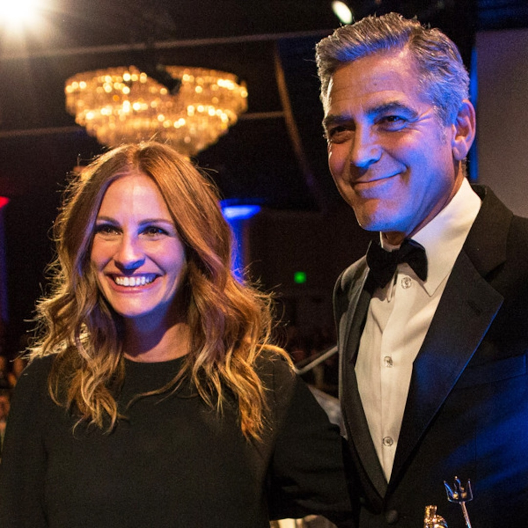 """George Clooney Honored By """"Great Friend"""" Julia Roberts At"""