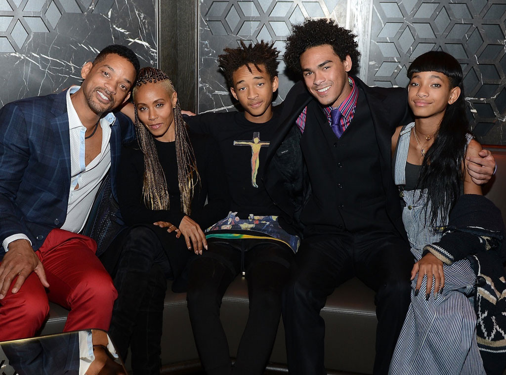 Will Smith, Jada Pinkett Smith, Jaden Smith, Willow Smith