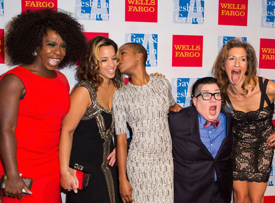 Uzo Aduba, Dascha Polanco, Samira Wiley, Lea DeLaria and Alysia Reiner