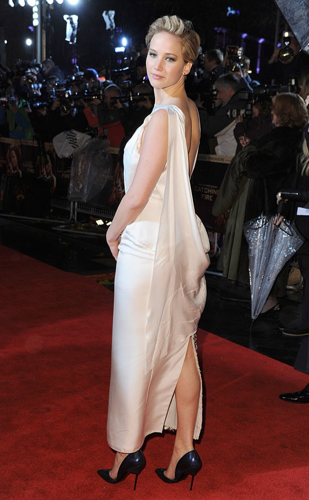 Jennifer Lawrence, Catching Fire Premiere