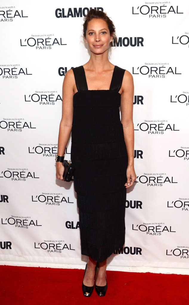 Christy Turlington Burns, Glamour Awards