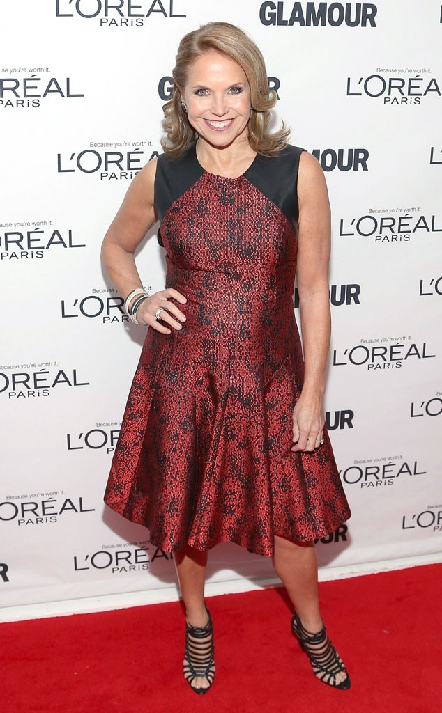 Katie Couric, Glamour Awards