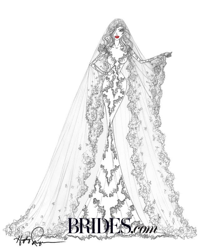 Kim Kardashian, Brides.com