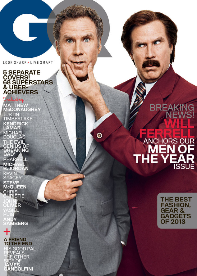 GQ, Men of the Year, Will Ferrell