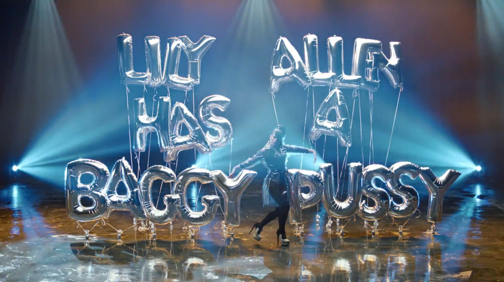 lily allen returns with hard out here music video throws