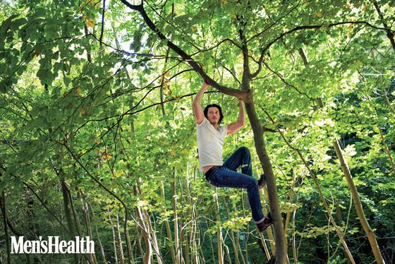 Luke Evans, Men's Health
