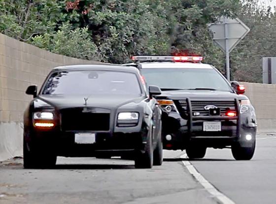Kim Kardashian Gets Ticket For Speeding In Her Rolls Royce After
