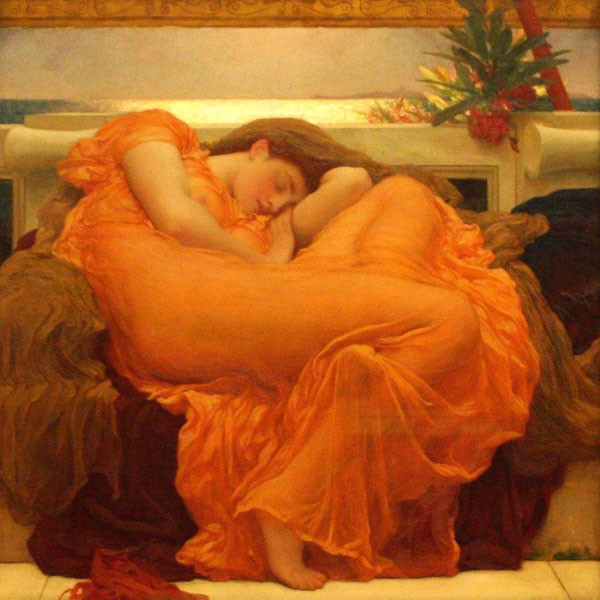 Flaming June, Frederic Leighton