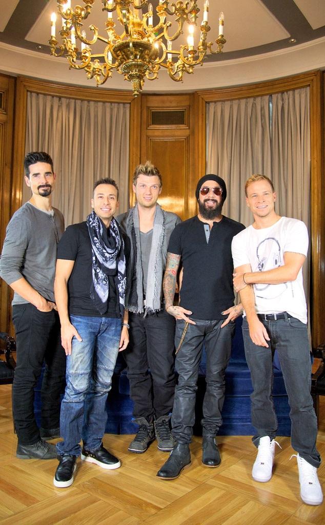 Backstreet Boys, Kevin Richardson, Howie Dorough, Nick Carter, A.J. Maclean, Brian Littrell