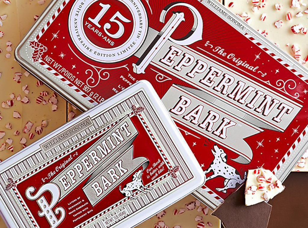 Williams-Sonoma Peppermint Bark, Curtis Stone's Wish List for Foodies