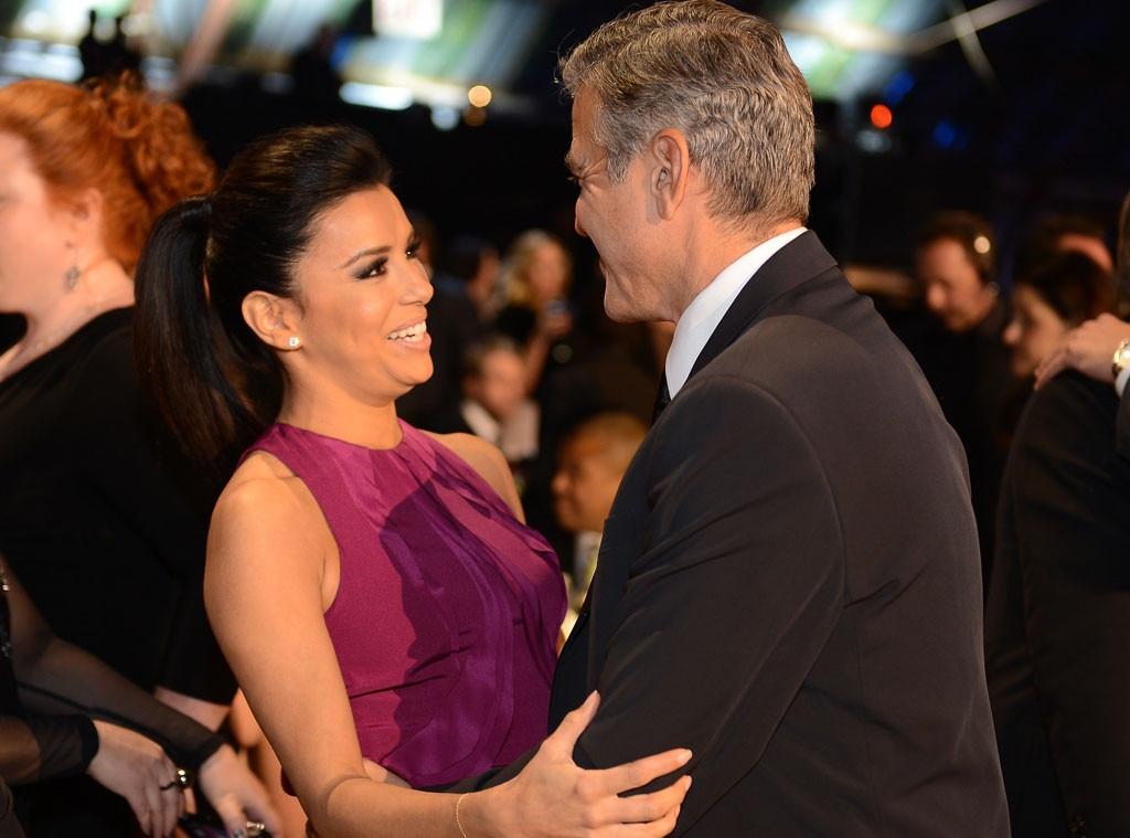 Eva Longoria, George Clooney
