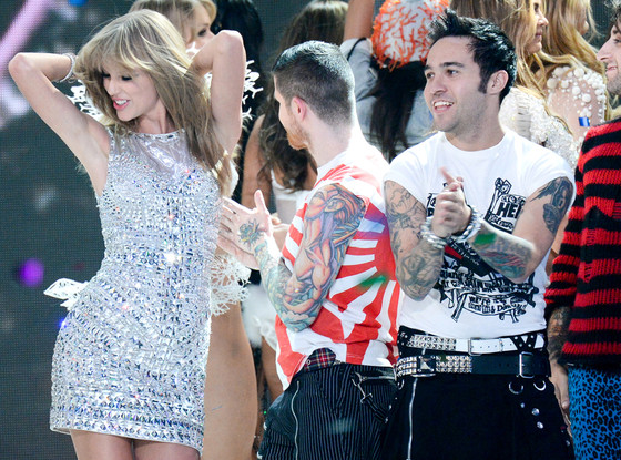 Taylor Swift, Pete Wentz, Victoria's Secret Fashion Show