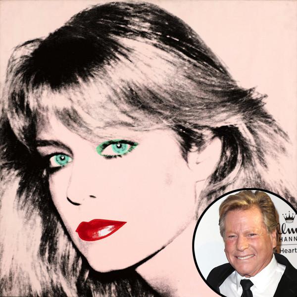 Farrah Fawcett, Warhol painting, Ryan O'Neal